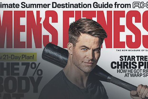 As Seen In: Men's Fitness