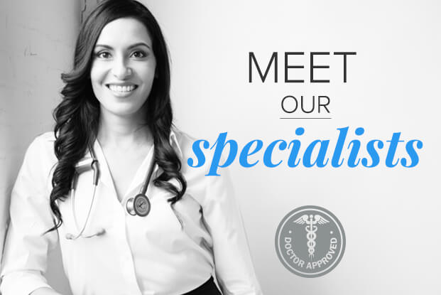 Meet our specialists.