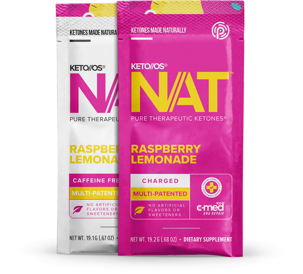 Pruvit Keto Os Nat Raspberry Lemonade Ketone Supplement